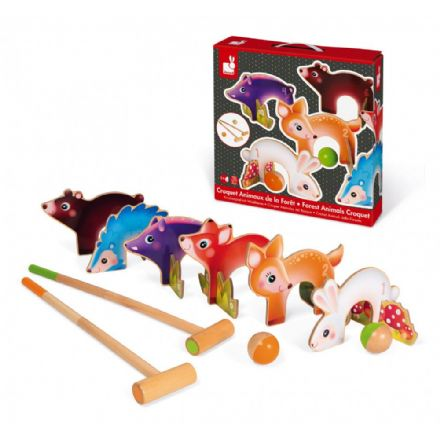 Janod Forest Animal Croquet